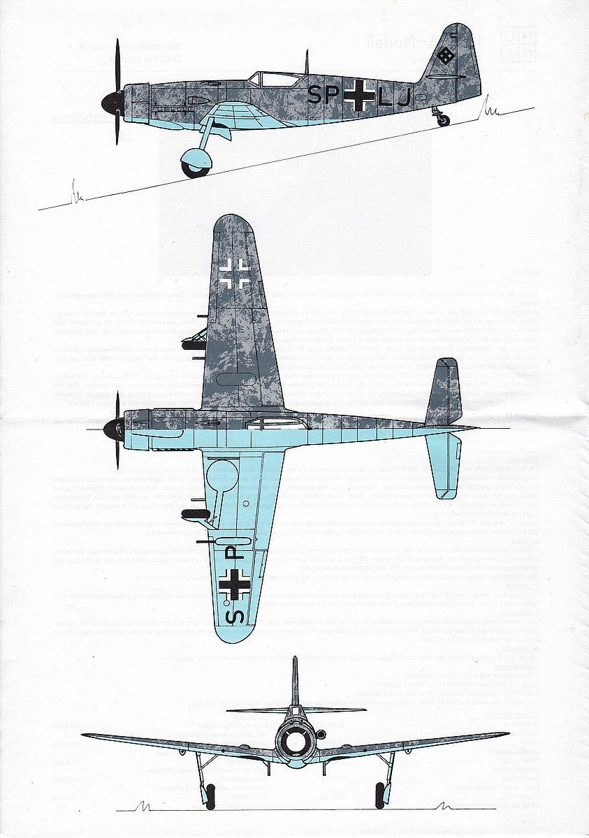 HUMA-3505-Messerschmitt-Me-209-V5-15 Kit-Archäologie - heute: Messerschmitt Me 209 V5 im Maßstab 1:72 von HUMA