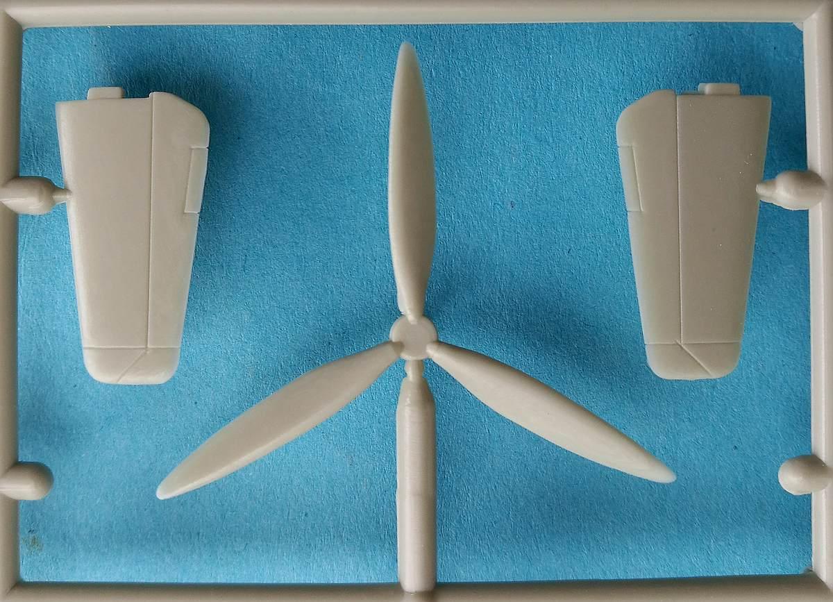 HUMA-3505-Messerschmitt-Me-209-V5-22 Kit-Archäologie - heute: Messerschmitt Me 209 V5 im Maßstab 1:72 von HUMA