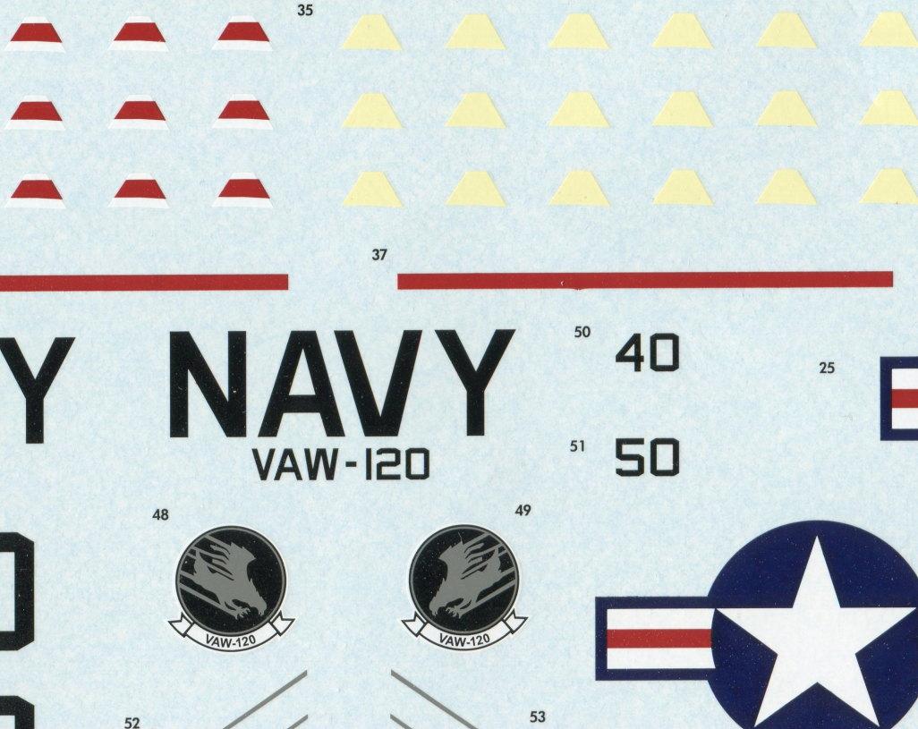 Kinetic_E-2C_39 U.S. NAVY E-2C Hawkeye 2000 - Kinetic 1/48