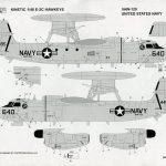 Kinetic_E-2C_41-150x150 U.S. NAVY E-2C Hawkeye 2000 - Kinetic 1/48