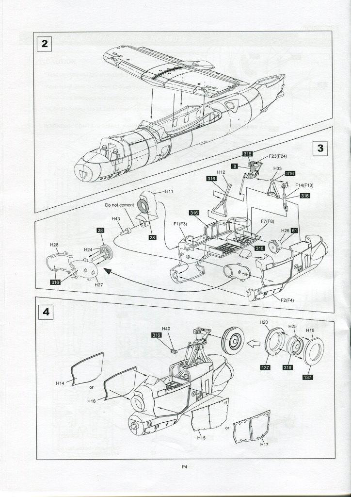 Kinetic_E-2C_49 U.S. NAVY E-2C Hawkeye 2000 - Kinetic 1/48