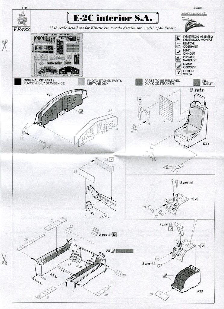 Kinetic_E-2C_Zubehör_09 Zubehör zur E-2C Hawkeye von Kinetic - Eduard und Royal Resin - 1/48
