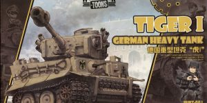 Tiger I (World War Toons Serie) – Meng 1/irgendwas