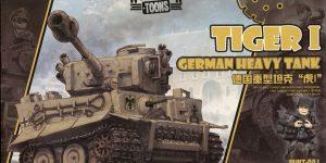 Tiger I (World War Toons Serie) – Meng 1/irgendwas