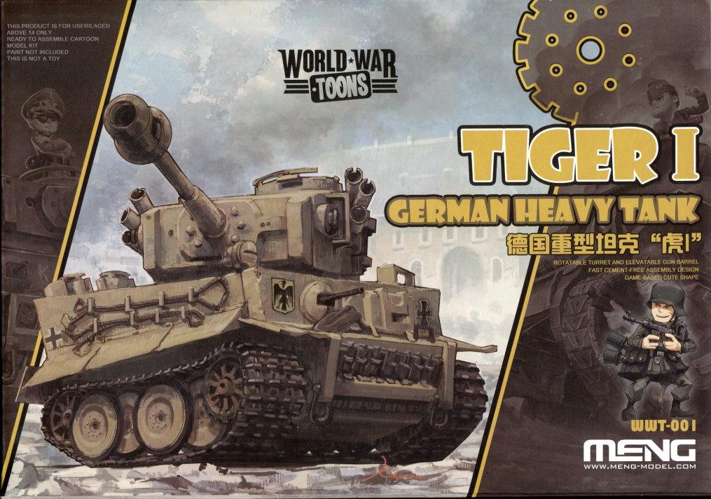 Meng_Tiger_I_WWT_01 Tiger I (World War Toons Serie) - Meng 1/irgendwas