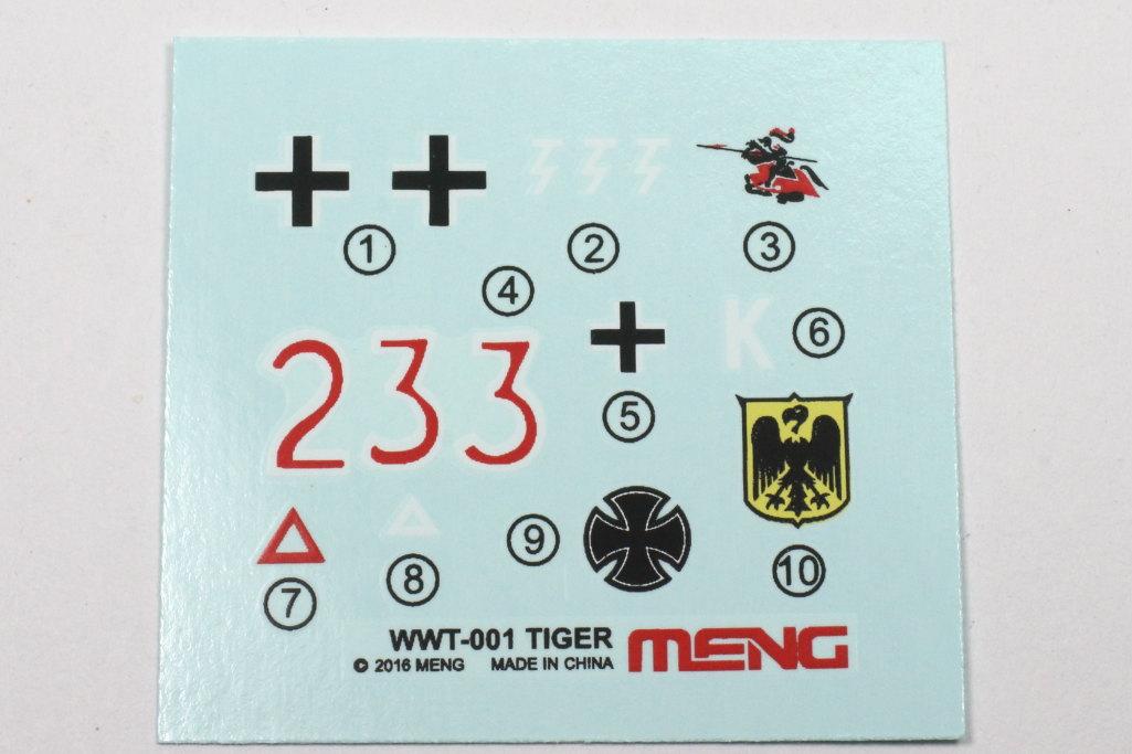 Meng_Tiger_I_WWT_27 Tiger I (World War Toons Serie) - Meng 1/irgendwas