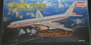 Boeing 757-200 im Maßstab 1:144 von Minicraft 14463