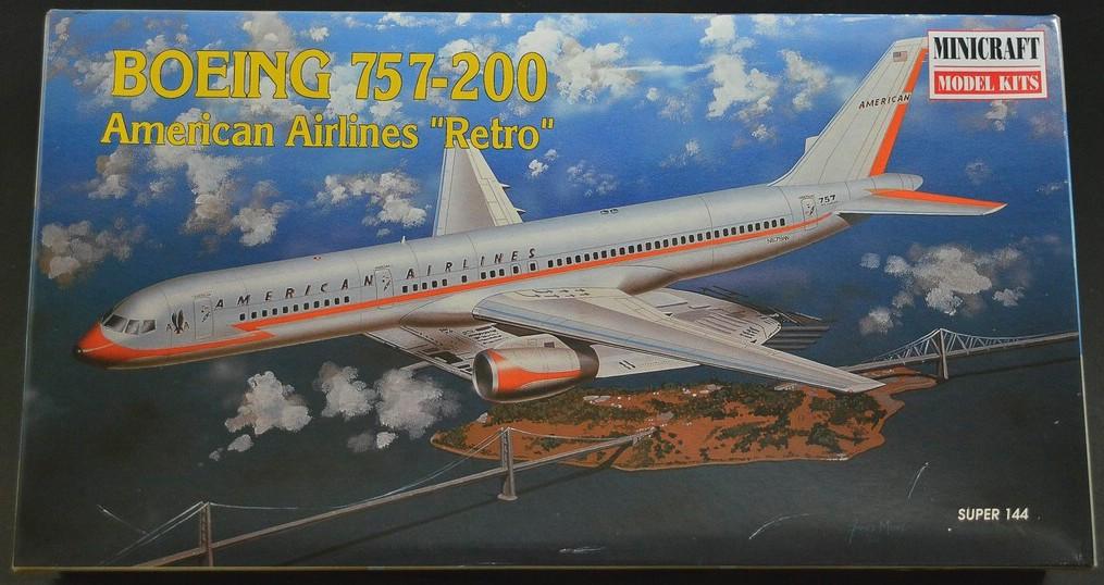 Minicraft-14463-Boeing-757-200-14 Boeing 757-200 im Maßstab 1:144 von Minicraft 14463