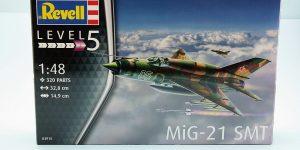 MiG-21 SMT im Maßstab 1:48 von Revell 03915