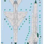 Revell-03915-MiG-21-SMT-Stencilplacement-2-150x150 MiG-21 SMT im Maßstab 1:48 von Revell 03915