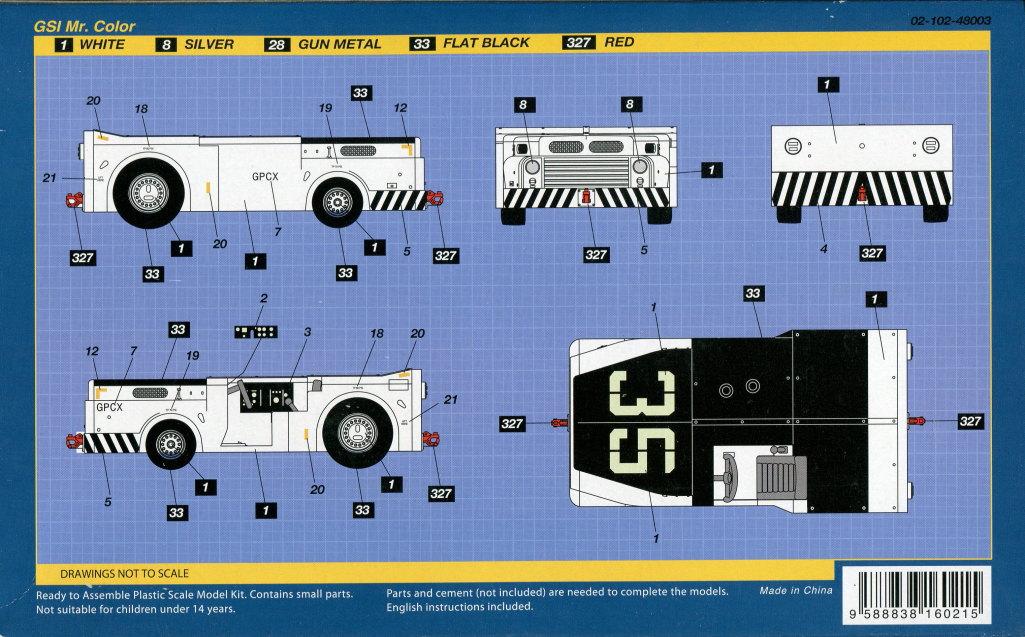 Skunk_MD-3_Tractor_02 MD-3 Navy Tractor - Skunk Models Workshop 1/48