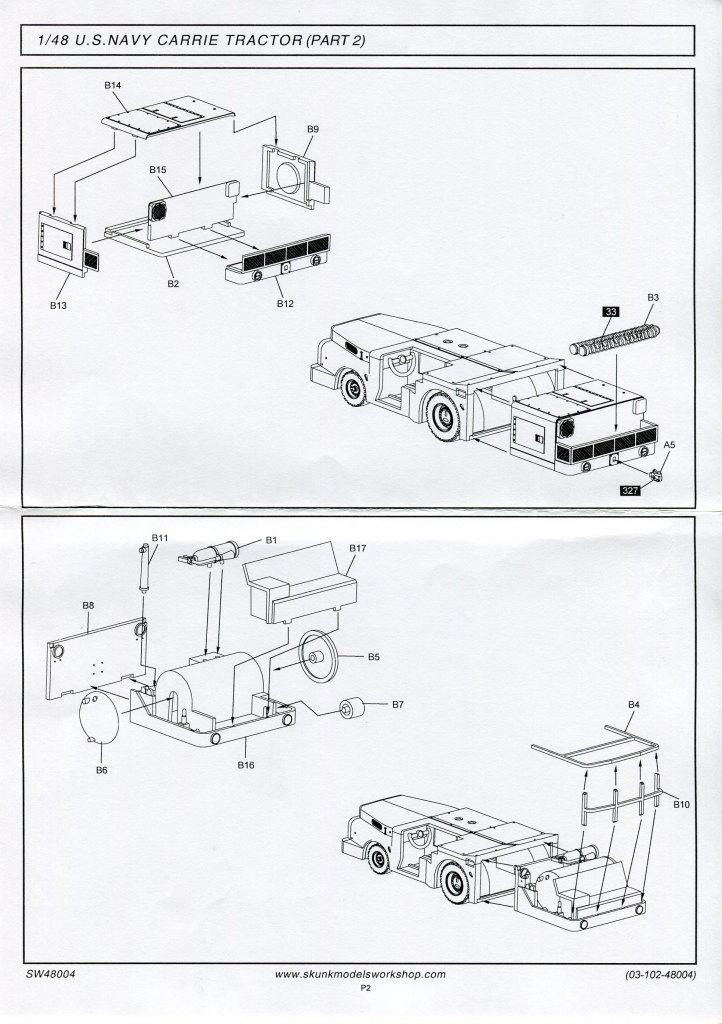 Skunk_MD-3_Tractor_04 MD-3 Navy Tractor - Skunk Models Workshop 1/48