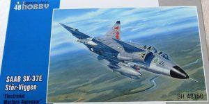 Saab Sk37E Stör Viggen im Maßstab 1:48 von Special Hobby SH 48150