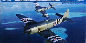 Hawker Sea Fury FB. Mk. 11 im Maßstab 1:48 von Trumpeter 02844