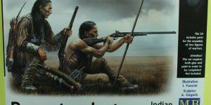 Remote Shot – Indian War Series im Maßstab 1:35 Masterbox 35128