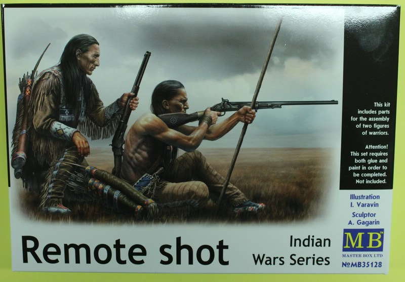 tiny_IMG_2813 Remote Shot - Indian War Series im Maßstab 1:35 Masterbox 35128