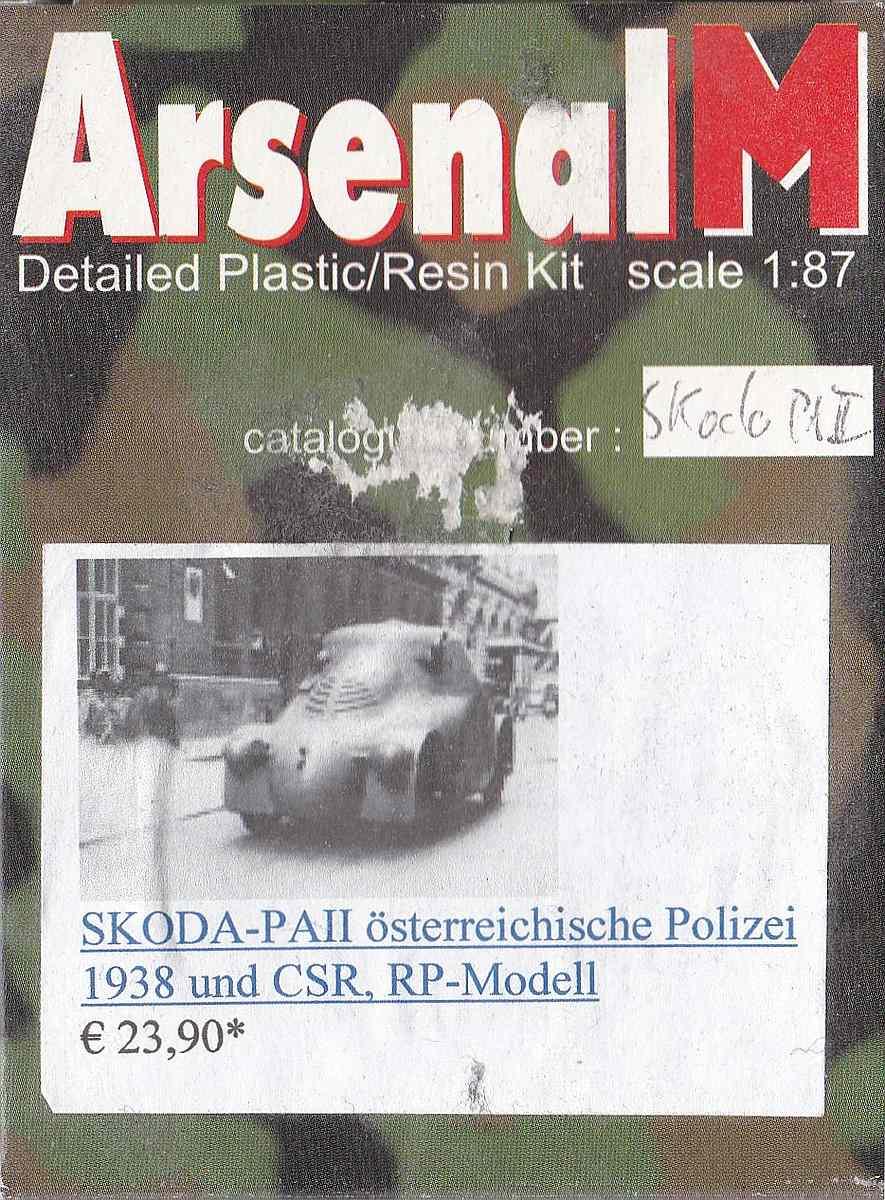 ArsenalM-Skoda-PA-1 Skoda PA.II Österreichische Polizei in 1:87 von ArsenalM