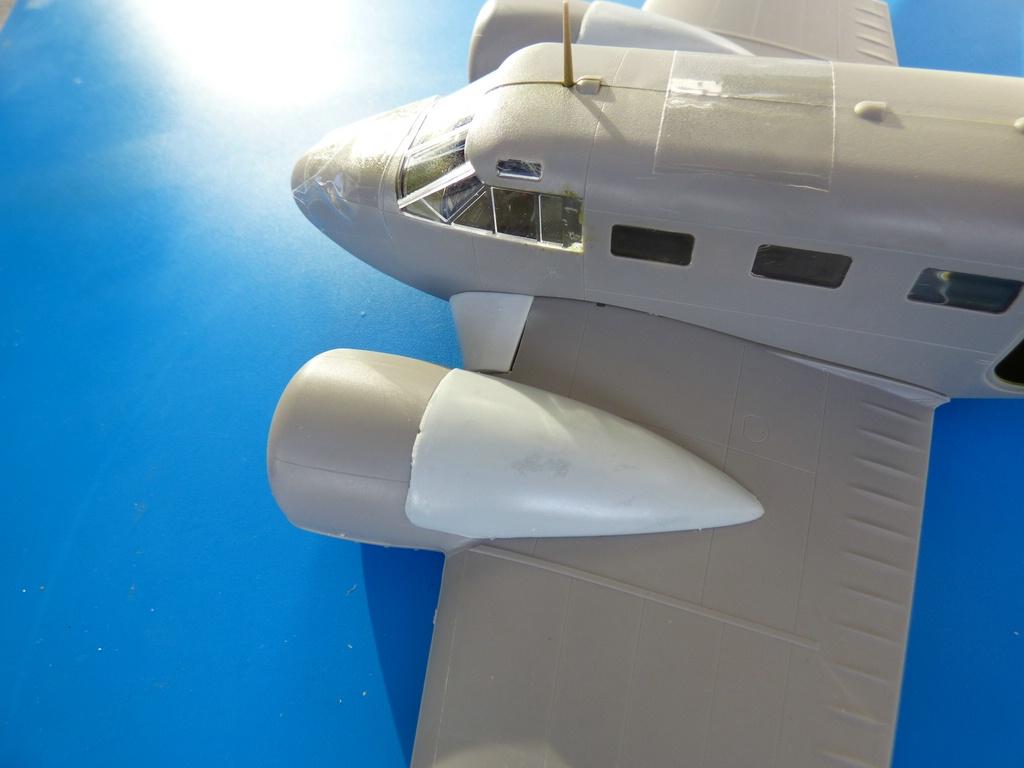 BelcherBits-Umbausatz-C-45-3 Detail- und Umbausets für die 1:48er Beechcraft 18 / Beech C-45 von Eduard und BelcherBits