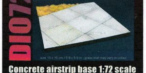 Concrete Airstrip Base im Maßstab 1:72 von Reality in Scale (Dio72-021)