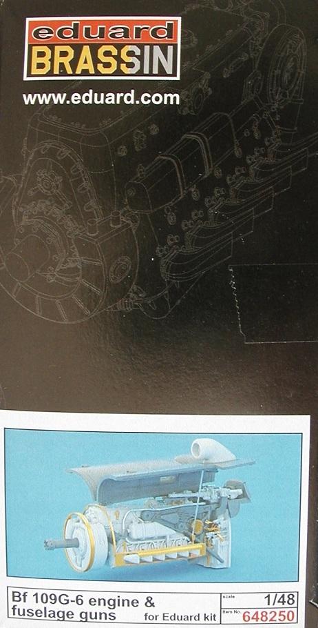 Eduard-648250-Bf-109-G-6-Engine-and-fuselage-guns-13 Messerschmitt Bf 109 G-6 Engine and fuselage guns in 1:48 von Eduard 648250