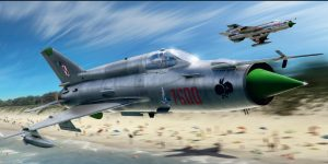 MiG-21MF Interceptor im Maßstab 1:72 von Eduard 70141