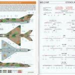 Eduard-70141-MiG-21MF-ProfiPack-20-150x150 MiG-21MF Interceptor im Maßstab 1:72 von Eduard 70141