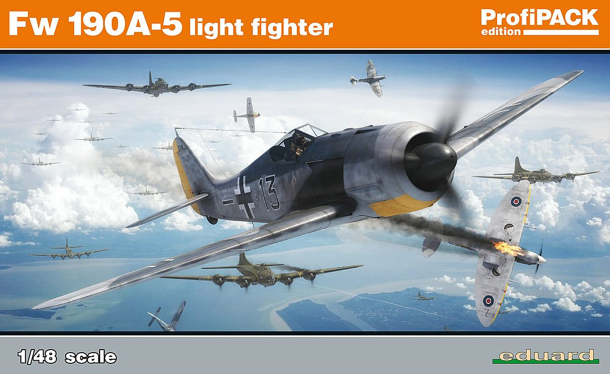 Eduard-82143-FW-190-A-5-36 Focke Wulf FW 190 A-5 lightweight fighter in 1:48 von Eduard 82143