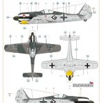 Eduard-82143-FW-190-A-5-49-150x150 Focke Wulf FW 190 A-5 lightweight fighter in 1:48 von Eduard 82143