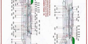 Zubehör für die neue MiG-21MF im Maßstab 1:72 von Eduard – Stencils D72015