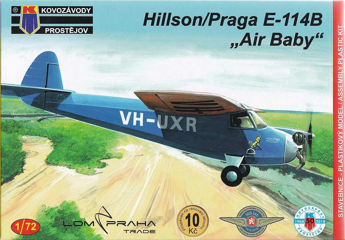 KP-Models-KPM-0094-Hillson-Praga-E-114B-Air-baby-13 Hillson / Praga E-114B Air Baby in 1:72 von KP Models KPM 0094
