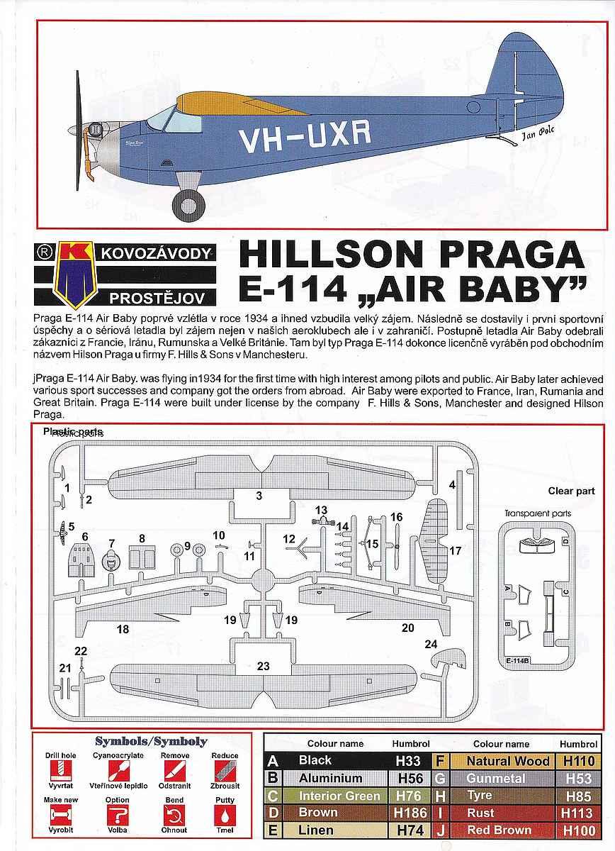 KP-Models-KPM-0094-Hillson-Praga-E-114B-Air-baby-8 Hillson / Praga E-114B Air Baby in 1:72 von KP Models KPM 0094