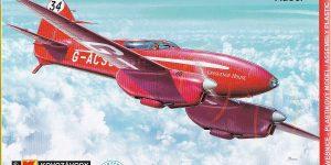 deHavilland DH.88 Comet Racer in 1:72 von KP Models KPM 0099
