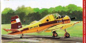 Let Z-37A im Maßstab 1:72 von KP Models KPM 0109