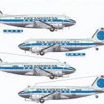 Karaya-144-11-DC-3-Pan-Am-3-150x150 Decals für die Douglas DC-3 bzw. C-47 im Maßstab 1:144 von Karaya