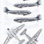 Karaya-144-12-DC-3-Air-France-3-150x150 Decals für die Douglas DC-3 bzw. C-47 im Maßstab 1:144 von Karaya