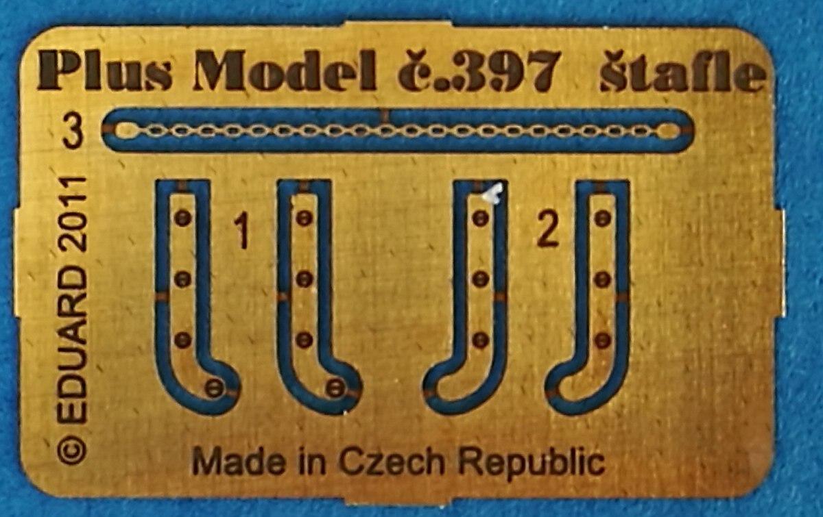 PlusModel-397-Stepladders-3 Stepladders im Maßstab 1:35 von PlusModels 397