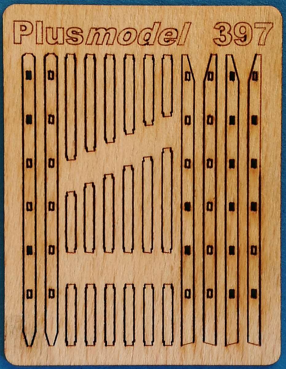 PlusModel-397-Stepladders-4 Stepladders im Maßstab 1:35 von PlusModels 397