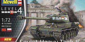 Soviet Heavy Tank IS-2 im Maßstab 1:72 von Revell 03269