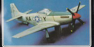 Kit-Archäologie – heute: P-51D Mustang im Maßstab 1:72 von StarFix (# 709/05)