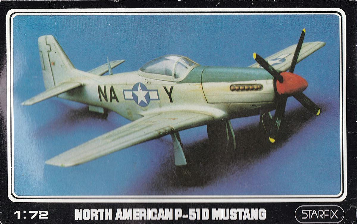 Starfix-709-05-P-51D-Mustang-1 Kit-Archäologie - heute: P-51D Mustang im Maßstab 1:72 von StarFix (# 709/05)