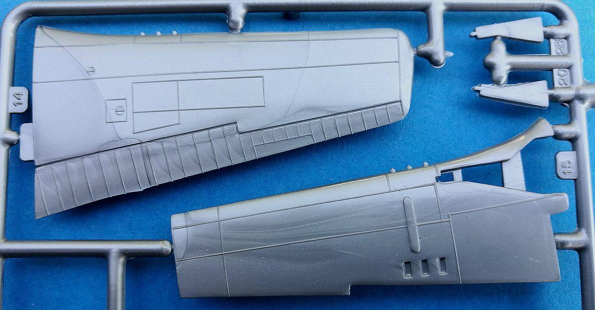 Starfix-709-05-P-51D-Mustang-12 Kit-Archäologie - heute: P-51D Mustang im Maßstab 1:72 von StarFix (# 709/05)