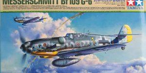 Messerschmitt Bf 109 G6 im Maßstab 1:48 von Tamiya 61117