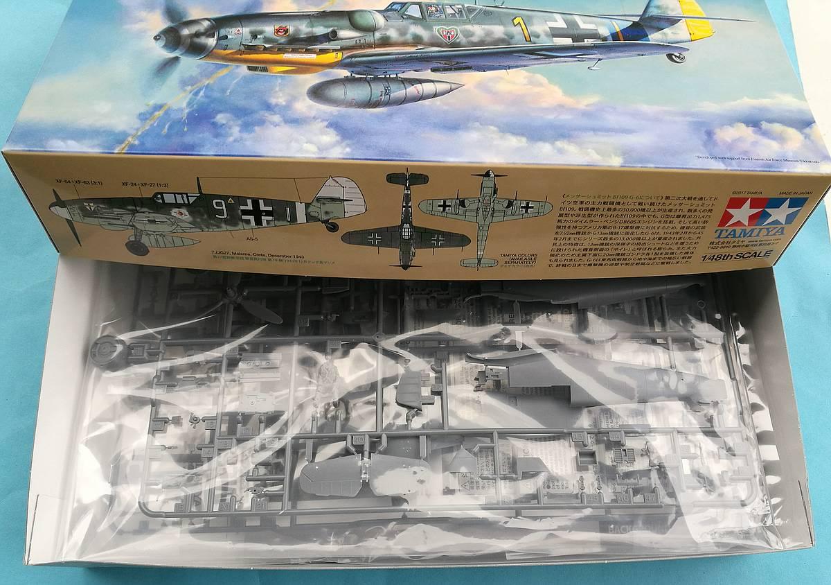 Tamiya-117-Messerschmitt-Bf-109-G6-28 Messerschmitt Bf 109 G6 im Maßstab 1:48 von Tamiya 61117