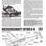 Tamiya-117-Messerschmitt-Bf-109-G6-3-150x150 Messerschmitt Bf 109 G6 im Maßstab 1:48 von Tamiya 61117