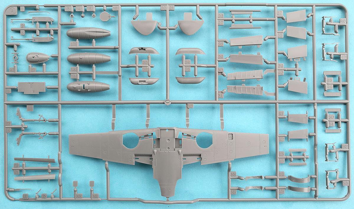 Tamiya-117-Messerschmitt-Bf-109-G6-38 Messerschmitt Bf 109 G6 im Maßstab 1:48 von Tamiya 61117