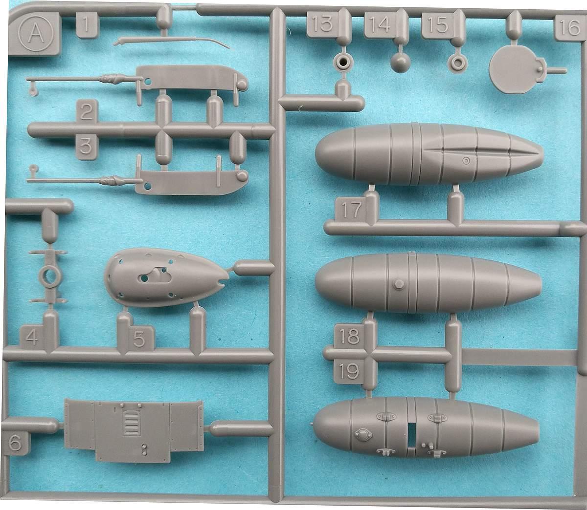 Tamiya-117-Messerschmitt-Bf-109-G6-40 Messerschmitt Bf 109 G6 im Maßstab 1:48 von Tamiya 61117