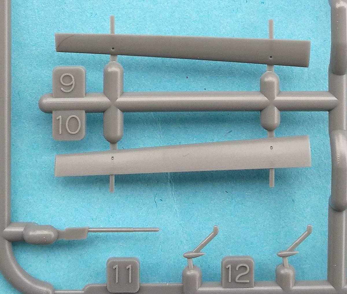 Tamiya-117-Messerschmitt-Bf-109-G6-46 Messerschmitt Bf 109 G6 im Maßstab 1:48 von Tamiya 61117