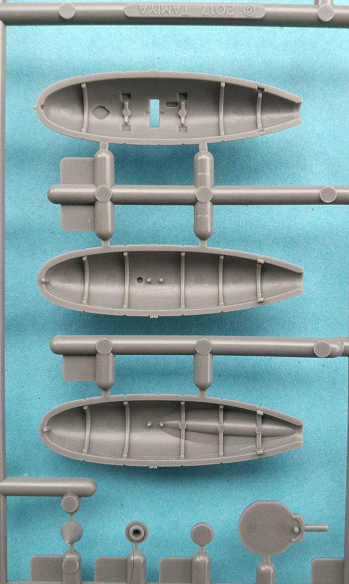 Tamiya-117-Messerschmitt-Bf-109-G6-50 Messerschmitt Bf 109 G6 im Maßstab 1:48 von Tamiya 61117