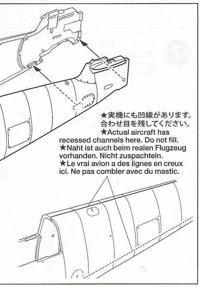 Tamiya-117-Messerschmitt-Bf-109-G6-8 Messerschmitt Bf 109 G6 im Maßstab 1:48 von Tamiya 61117