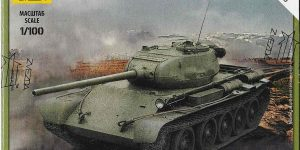 Soviet Medium Tank T-44 im Maßstab 1:100 Art of Tactic von Zvezda 6238